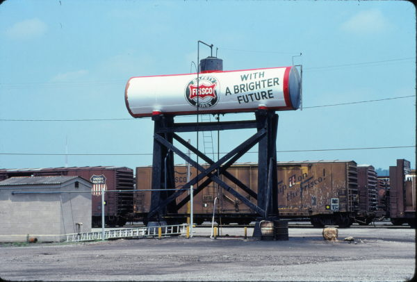 Frisco fuel tank at Birmingham, Alabama on June 10, 1978 (Michael Reid)