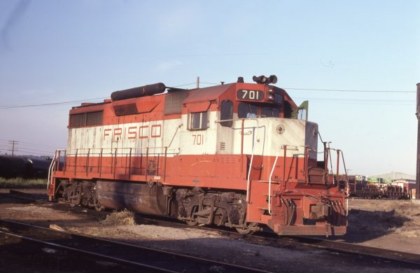 GP35 701 at Spokane, Washington on August 13, 1979 (F.M. Simon)