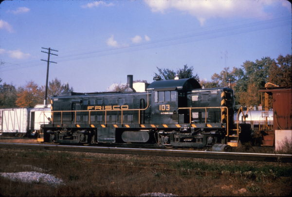 RS-1 103 at Willow Springs, Missouri on October 18, 1965 (Al Chione)