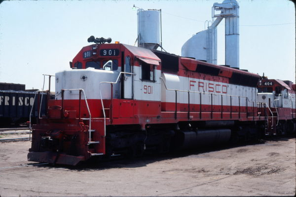 SD45 901 at Sherman, Texas on May 10, 1980 (Gene Gant)
