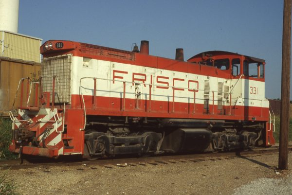 SW1500 331 at Memphis, Tennessee on September 1, 1980 (P.B. Wendt)