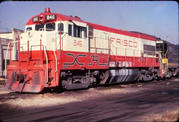 U30B 846 at Atlanta, Georgia in December 1973