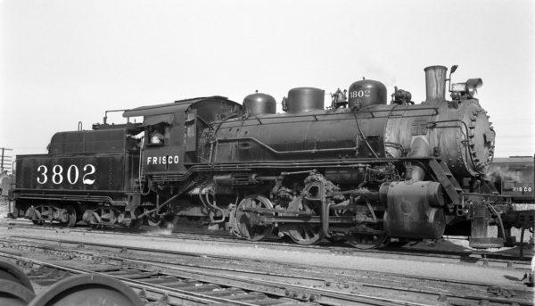 0-6-0 3802 at Tulsa, Oklahoma on September 24, 1948 (R.H. Kennedy)