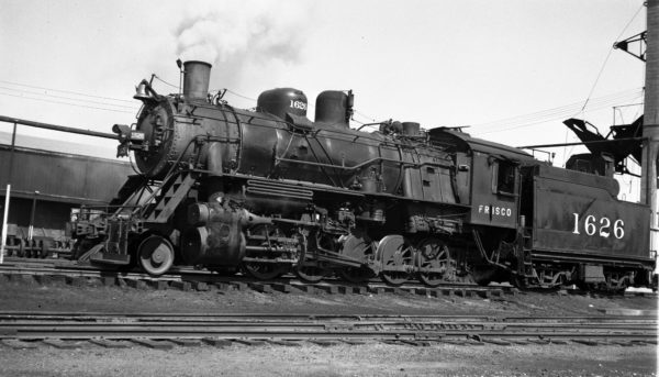 2-10-0 1626 at Fort Smith, Arkansas on October 2, 1950