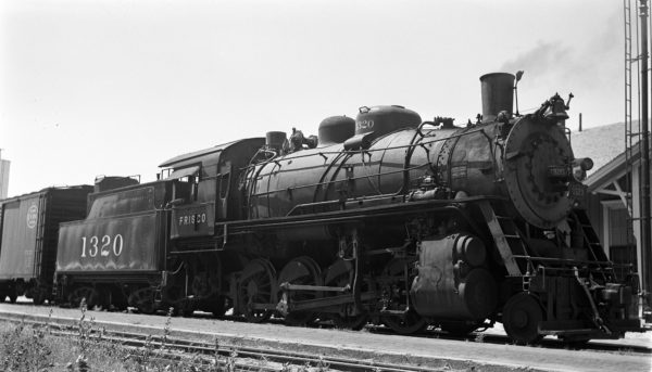 2-8-0 1320 (location unknown) on August 13, 1951