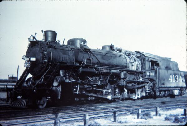 2-8-2 4134 at Memphis, Tennessee on September 12, 1948