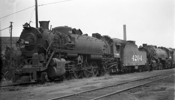 2-8-2 4204 at Birmingham, Alabama on August 30, 1951
