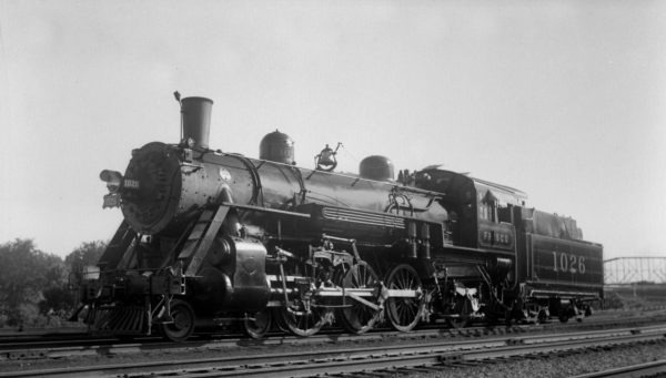 4-6-2 1026 at Lindenwood Yard, St. Louis, Missouri in 1934