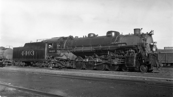 4-8-2 4403 at Lindenwood Yard, St. Louis, Missouri on March 16, 1940
