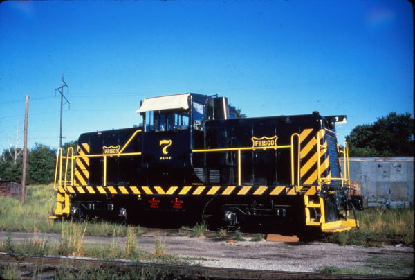 GE 44-Ton 7 at Fort Smith, Arkansas on August 25, 1962 (Al Chione)