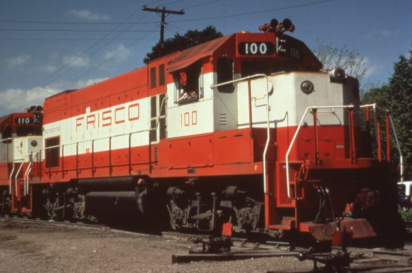 GP15-1 100 at Hope, Arkansas in May 1978 (C.R. Scholes)