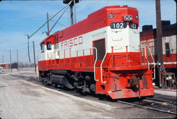 GP15-1 102 at Wichita, Kansas on March 5, 1978