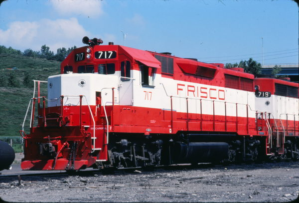 GP35 717 at Omaha, Nebraska in August 1979 (Andy Romano Collection)