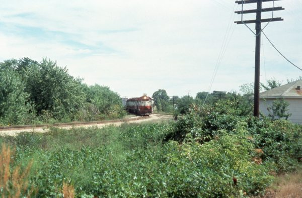 GP35 726 at Nichols, Missouri in September 1975 (C. Dischinger)