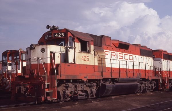 GP38-2 425 at St. Louis, Missouri on July 23, 1979 (M.A. Wise)
