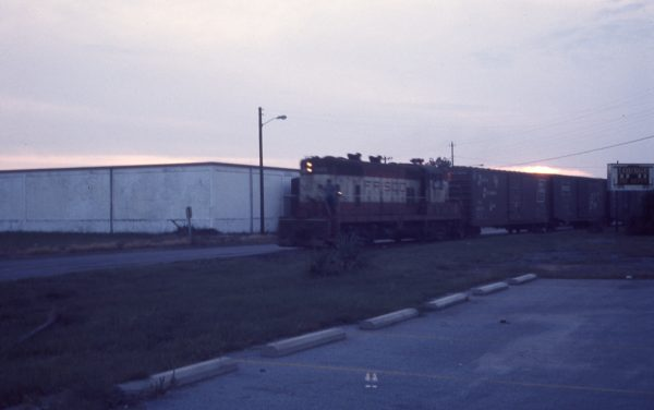 GP7 549 (location unknown) in April 1974