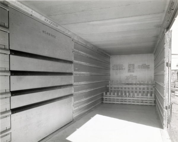 Insulated Boxcar 6056 Interior