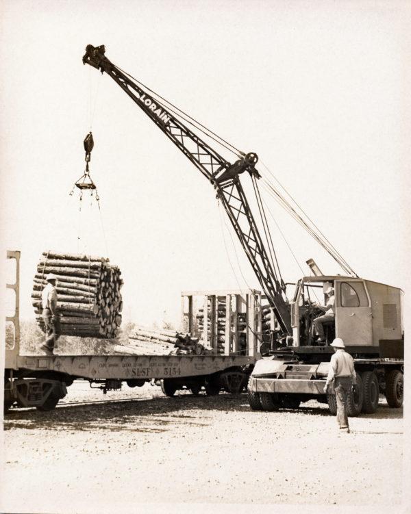 Pulpwood Flatcar 5154