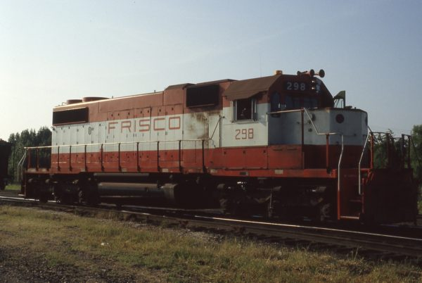 SD38-2 298 at Memphis, Tennessee on September 1, 1980 (P.B. Wendt)