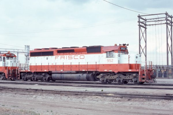 SD40-2 952 at St. Louis, Missouri on July 22, 1979 (M.A. Wise)