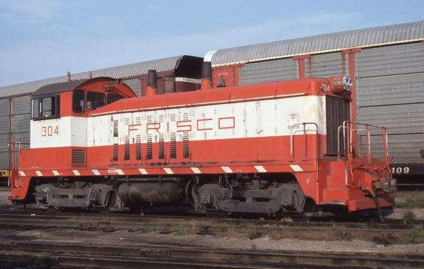 SW7 304 at St. Louis, Missouri in September 1980