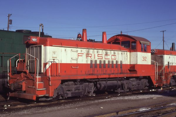 SW9 312 at St. Louis, Missouri on January 18, 1981 (J.C. Benson)
