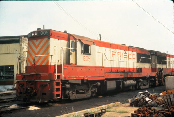 U25B 805 at Birmingham, Alabama in May 1977 (Vernon Ryder)