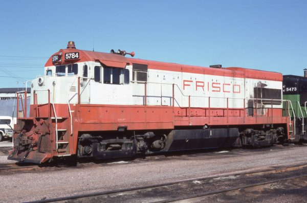 U30B 5784 (Frisco 846) at Lincoln, Nebraska on October 6, 1981 (J.R. Quinn)
