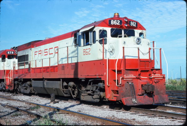 U30B 862 at Memphis, Tennessee in September 1975 (Steve Forrest)