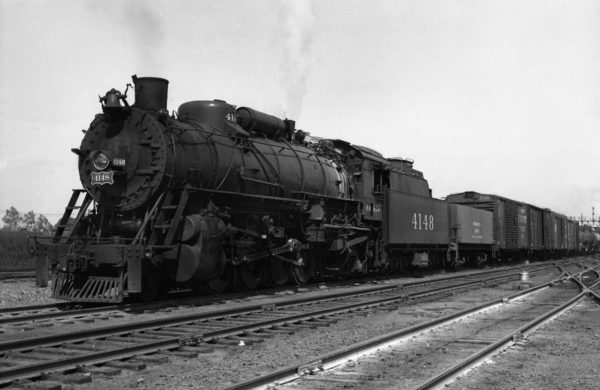 2-8-2 4148 at Tulsa, Oklahoma (date unknown)