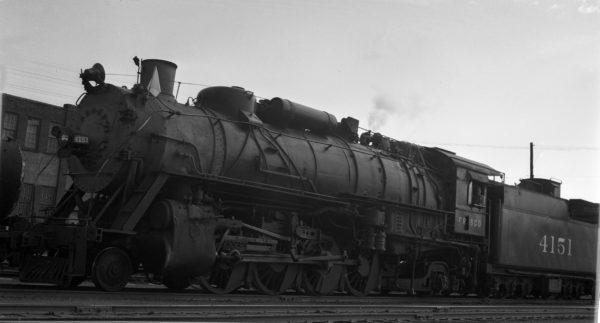 2-8-2 4151 at Tulsa, Oklahoma (date unknown)