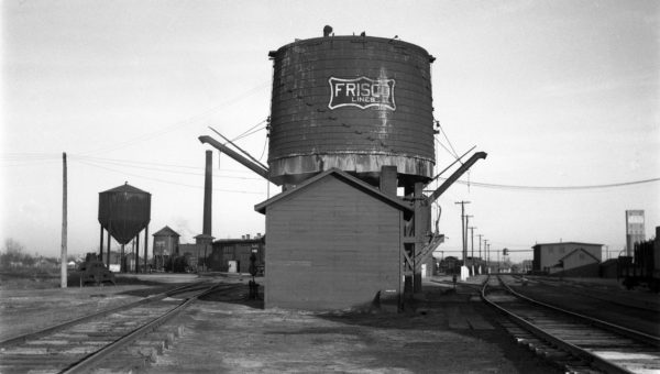 Enid Oklahoma Engine Terminal in 1939