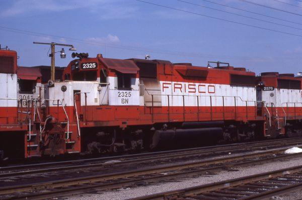 GP38-2 2325 (Frisco 470) at St. Louis, Missouri in September 1981