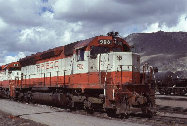 SD45 908 at Salt Lake City, Utah on April 12, 1979 (Ryan Ballard)