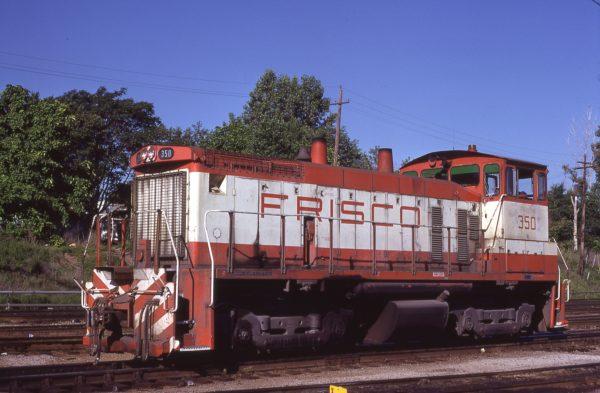 SW1500 350 at Kansas City, Kansas on June 29, 1980 (M.R. Lynn)