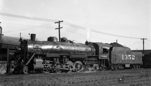 2-8-0 1352 at Lindenwood Yard, St. Louis, Missouri on July 13, 1946