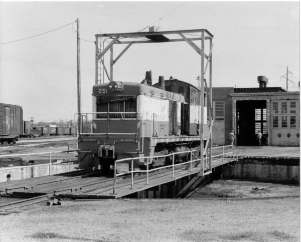 NW2 251 at Fort Smith, Arkansas (date unknown)
