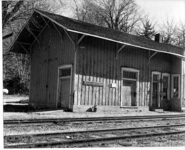 Winslow, Arkansas Depot (date unknown)