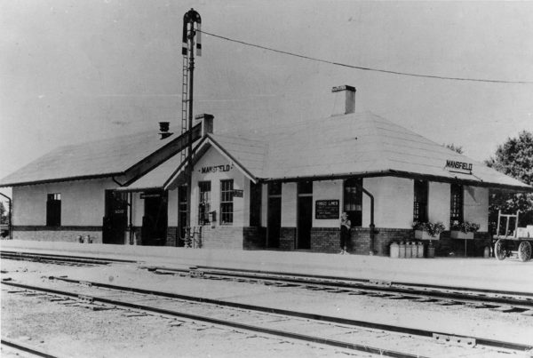 Mansfield, Missouri Depot (date unknown)