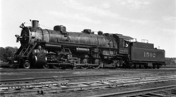 4-8-2 1502 at Lindenwood Yard, St. Louis, Missouri on August 22, 1939