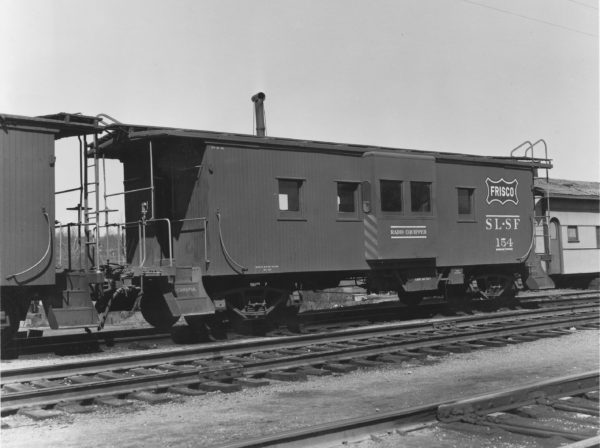 Caboose 154 (date and location unknown)