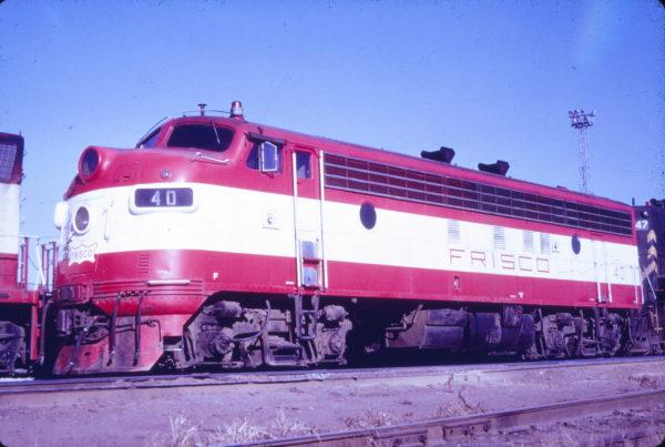 FP7 40 at Springfield, Missouri (date unknown) (Mac Owen - Blackhawk Films)