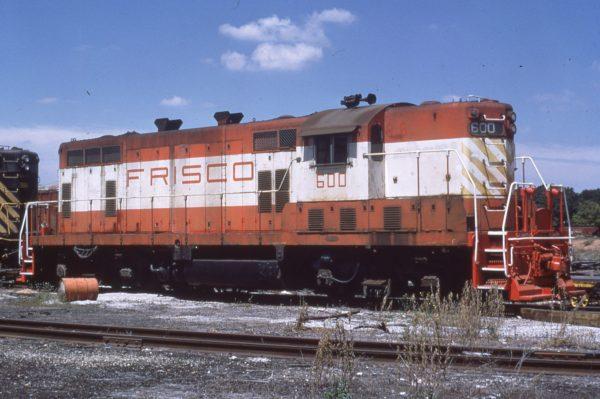 GP7 600 at Springfield, Missouri on August 15, 1973