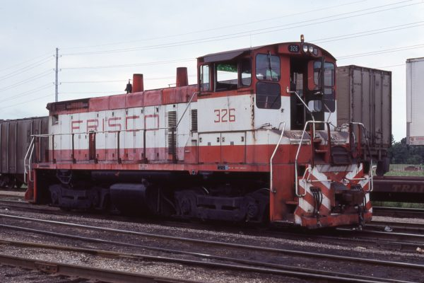 SW1500 326 at Amory, Mississippi in July 1978