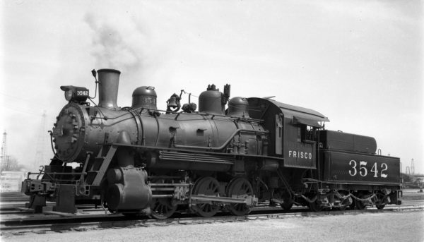 0-6-0 3542 at Tulsa, Oklahoma in 1940