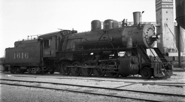 2-10-0 1616 at Enid, Oklahoma on May 1, 1938 (Ralph Graves)