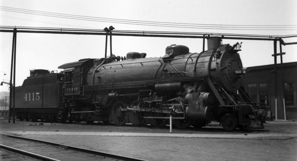 2-8-2 4115 at Tulsa, Oklahoma on May 20, 1938