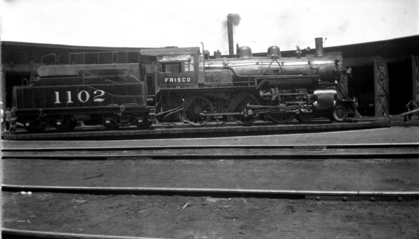 4-6-0 1102 (location unknown) in the 1920s