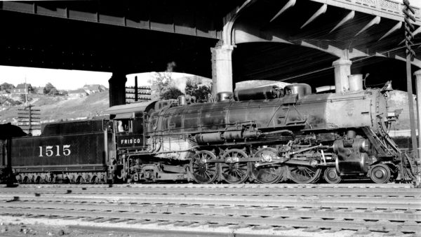 4-8-2 1515 at Kansas City, Missouri on September 15, 1948