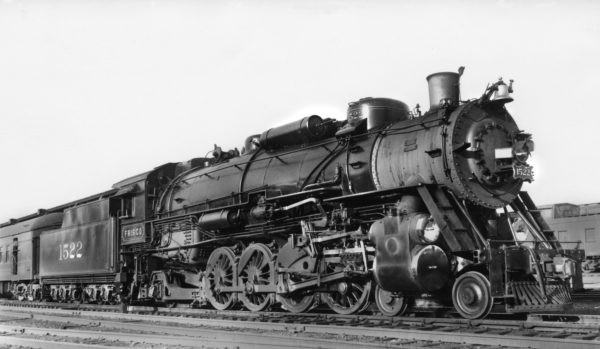 4-8-2 1522 at Birmingham, Alabama (date unknown)
